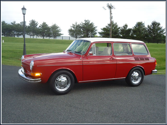 1970VWSquareback on paint interior design gallery